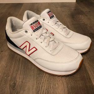 NEW BALANCE MZ 501 AAI WHITE/RED/BLACK Size 11.5